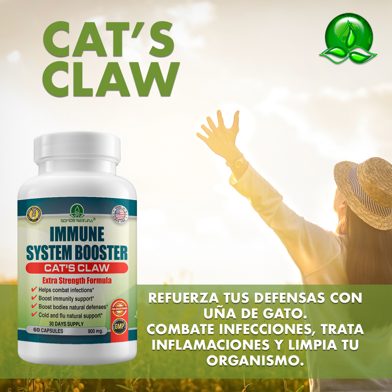 Beneficios de Uña de Gato